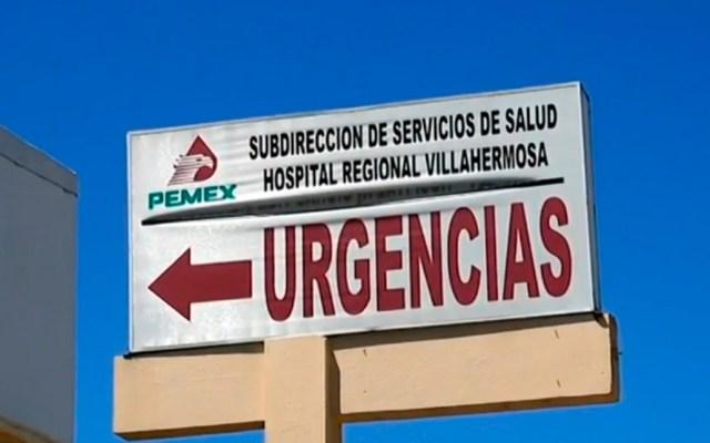 Pemex confirma ocho muertos por medicamentos contaminados en Tabasco - Hospital Regional de Villahermosa, Tabasco de Pemex