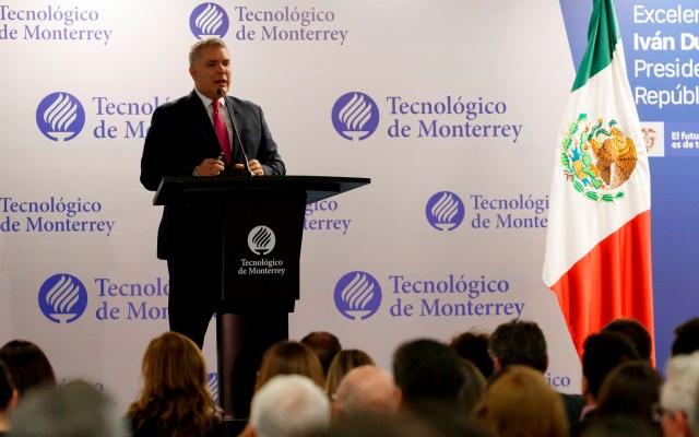 Duque pide reforzar relación cultural entre México y Colombia - Foto de EFE