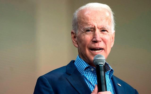 Apoyan rivales moderados a Joe Biden en las primarias demócratas - Joe Biden Estados Unidos Demócratas