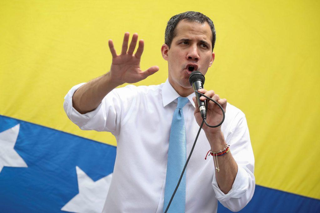 Guaidó confía en que acusación de EE.UU. a Maduro ayude a liberar a Venezuela - En la foto, el líder opositor Juan Guaidó. Foto de EFE