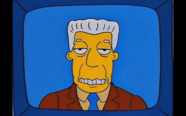Murió el actor de doblaje Gonzalo Curiel, voz de Kent Brockman en Los Simpson - Foto de internet