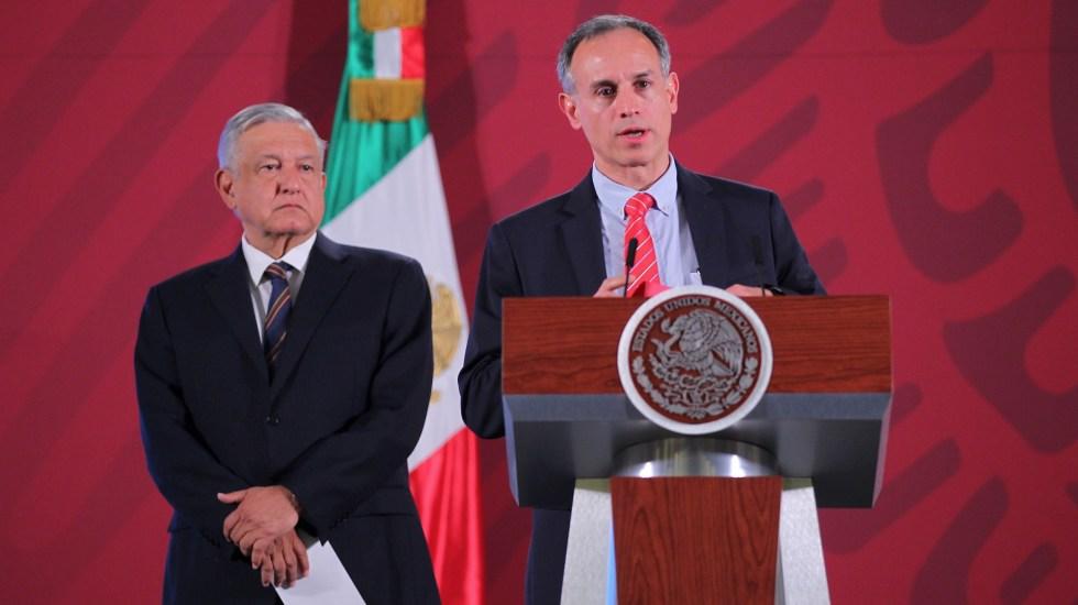 AMLO tiene fuerza moral y no de contagio, señala López-Gatell