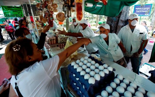 La actividad económica nacional se hundió 21.6 por ciento en mayo, reporta Inegi - Foto de EFE