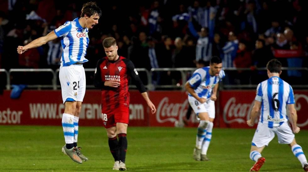 Real Sociedad va a la final de la Copa del Rey tras derrotar al Mirandés - Mirandés Real Sociedad Copa del Rey