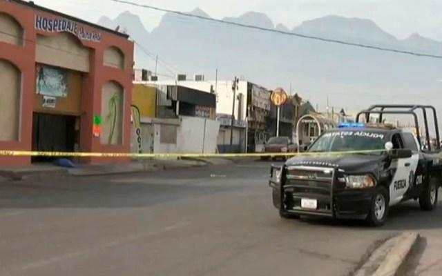 Asesinan a niño y dos adultos en motel de Monterrey - Motel Palma Real en donde asesinaron a tres personas. Foto de Milenio