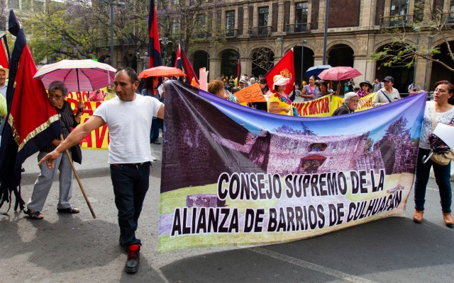 Las movilizaciones de este martes 26 de mayo en la Ciudad de México - concentraciones movilizaciones manifestaciones marzo