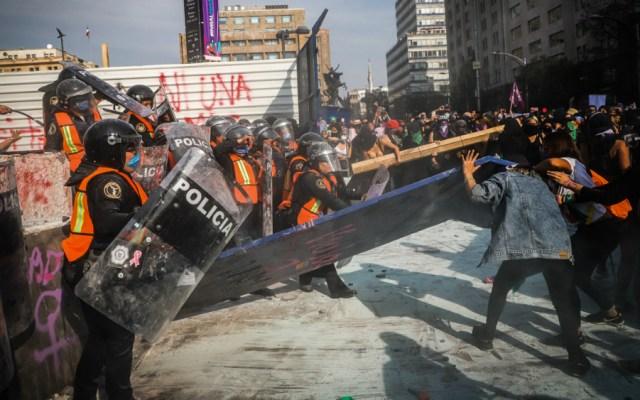 Trece hospitalizaciones y seis detenidos por marcha del 8M - Foto de Notimex
