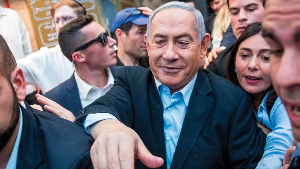 """Netanyahu describe como """"enorme victoria"""" las elecciones de Israel - Foto de EFE"""