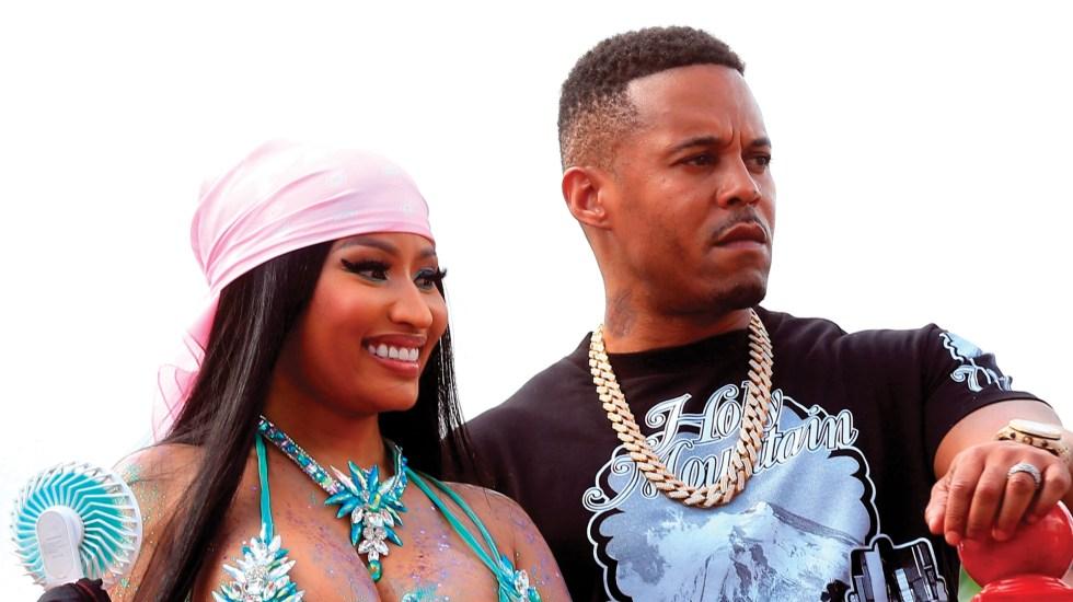 Detienen a esposo de Nicki Minaj por no registrarse en lista de agresores sexuales - Foto de EFE