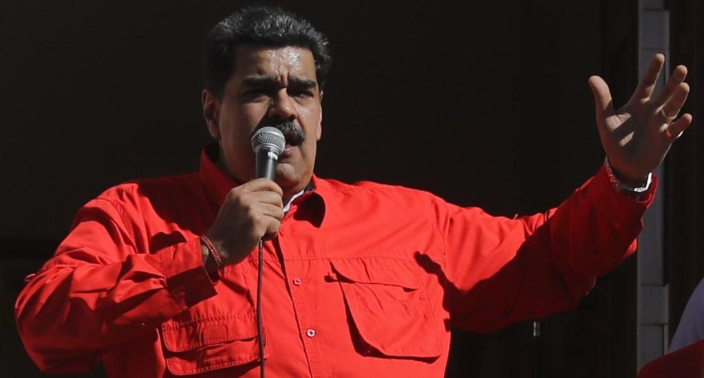 Maduro busca crear con la ONU fondo de 300 millones de dólares para vacunas - El presidente de Venezuela, Nicolás Maduro. Foto de EFE