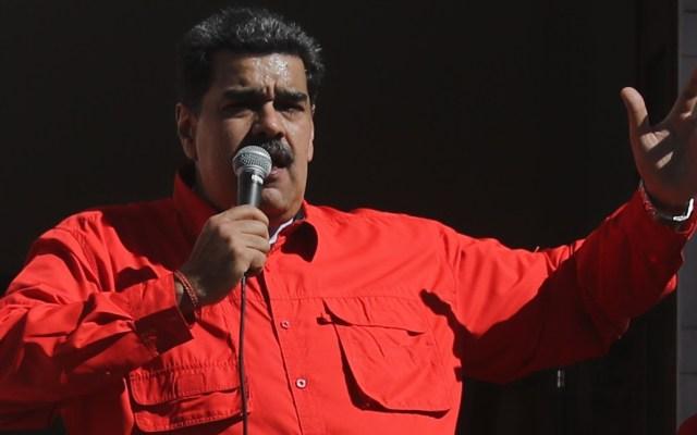 Nicolás Maduro califica de 'extremista y vulgar' acusación de EE.UU. - El presidente de Venezuela, Nicolás Maduro. Foto de EFE