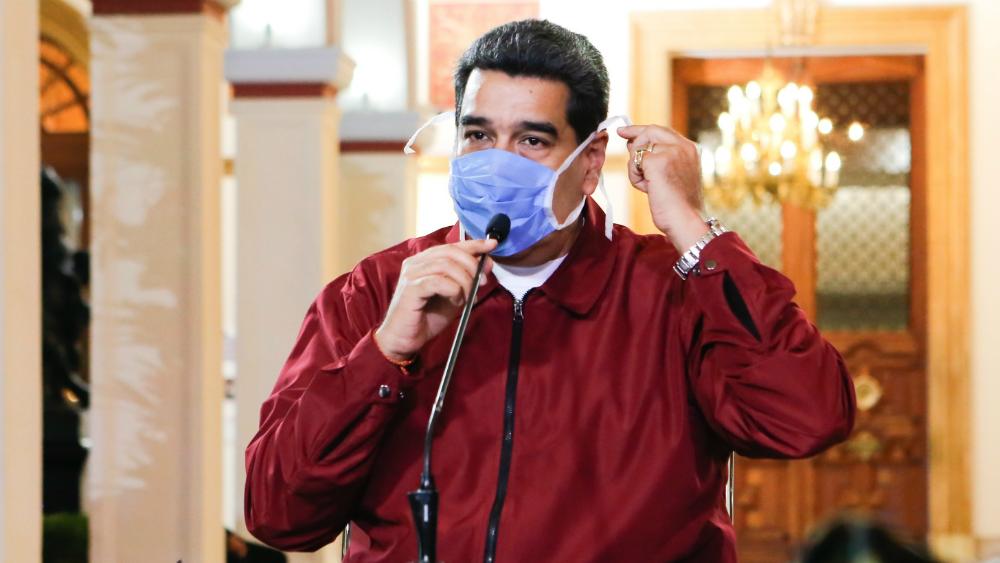 Facebook bloquea cuenta de Nicolás Maduro por desinformar sobre COVID-19 - El presidente de Venezuela, Nicolás Maduro. Foto de EFE