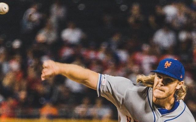 Operan con éxito a la estrella de los Mets, Noah Syndergaard - Estrella de los Mets, Noah Syndergaard. Foto de @nsyndergaard