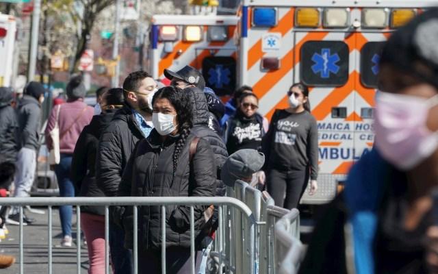 #Video El progreso de la pandemia de COVID-19 en el mundo - Nueva York Estados Unidos COVID-19 coronavirus