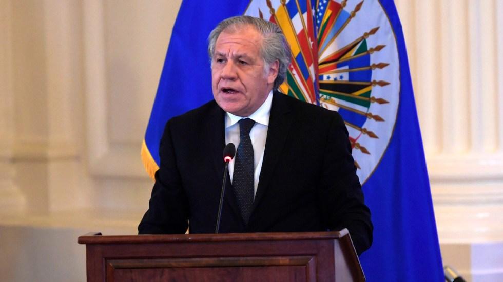 Luis Almagro, secretario general de la OEA, da positivo a COVID-19 - Luis Almagro OEA