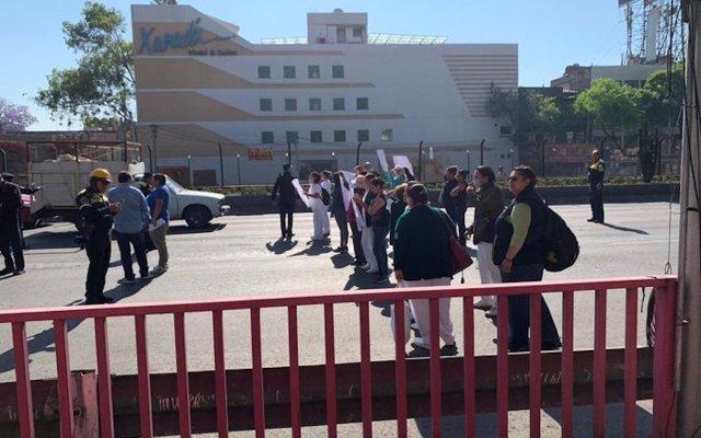 Nuevas protestas por falta de insumos para atender coronavirus en el IMSS - Foto de @postboxmx