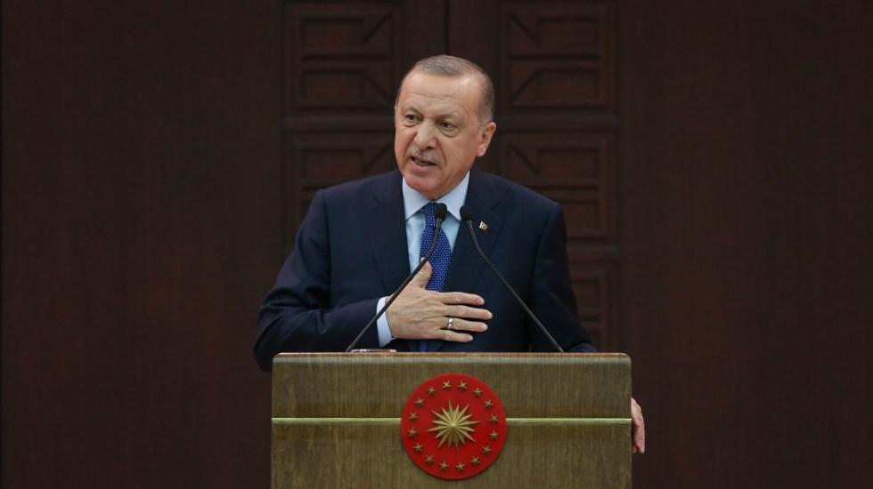 Erdogan dona su salario a ciudadanos en crisis económica por COVID-19 - Recep Tayyip Erdogan, presidente de Turquía. Foto de EFE