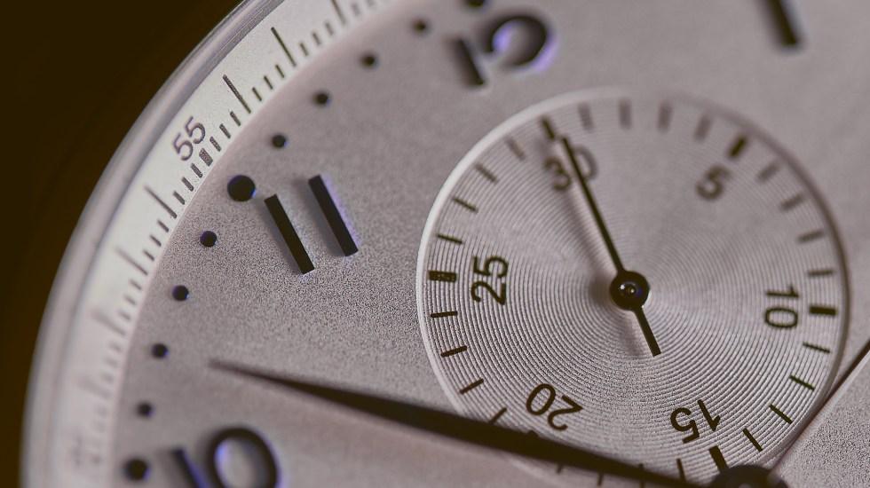 Horario de Verano iniciará el 5 de abril - Reloj horas horario de verano
