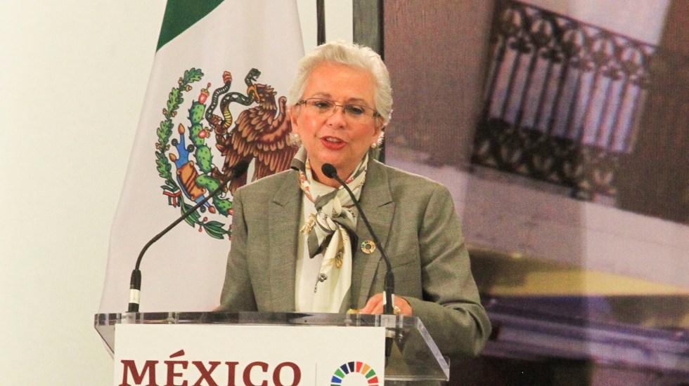 Condena Olga Sánchez Cordero agresiones contra Frida Guerrera - T-MEC coloca a México como una economía confiable: Sánchez Cordero