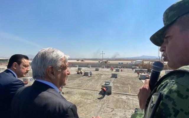 Preparación operacional del aeropuerto de Santa Lucía para este 2020 - Foto de lopezobrador.org.mx