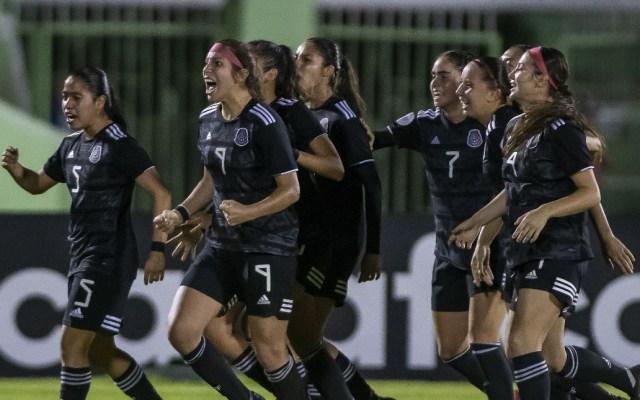 Selección Femenil derrota a Haití en penales y califica al Mundial Sub-20 - Selección Femenil Haití partido 06032020