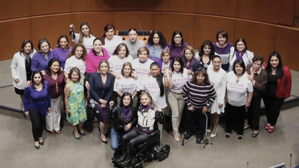 Realizan sesión solemne en el Senado por Día Internacional de la Mujer - Foto de @senadomexicano
