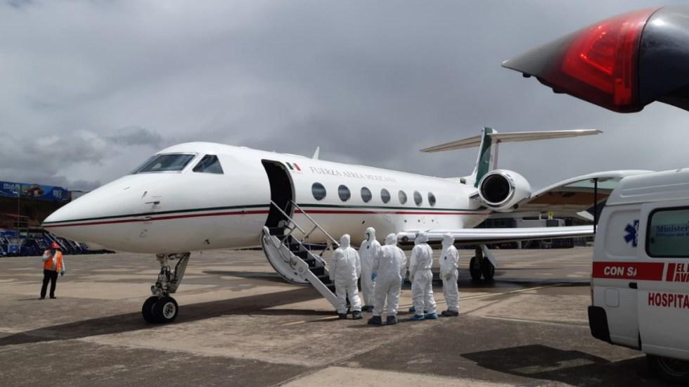 #Video Aterriza en Mérida la señora Ethel Trujillo tras rescate de Perú - SRE mexicana Perú rescate