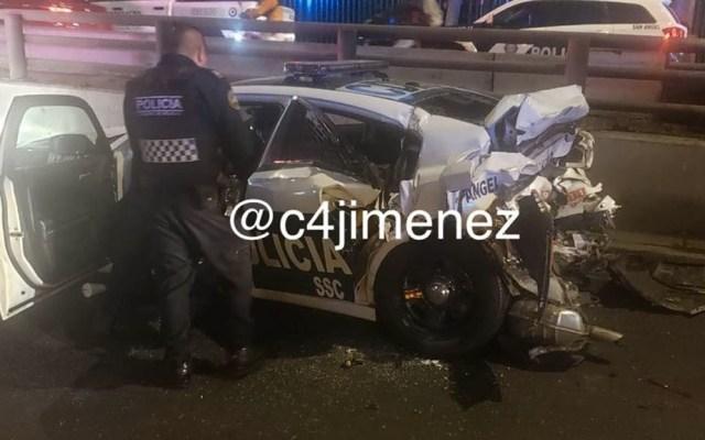 Detienen a conductor en la GAM tras atropellar a dos mujeres policía en alcoholímetro - SSC Alcoholímetro conductor detenido joven
