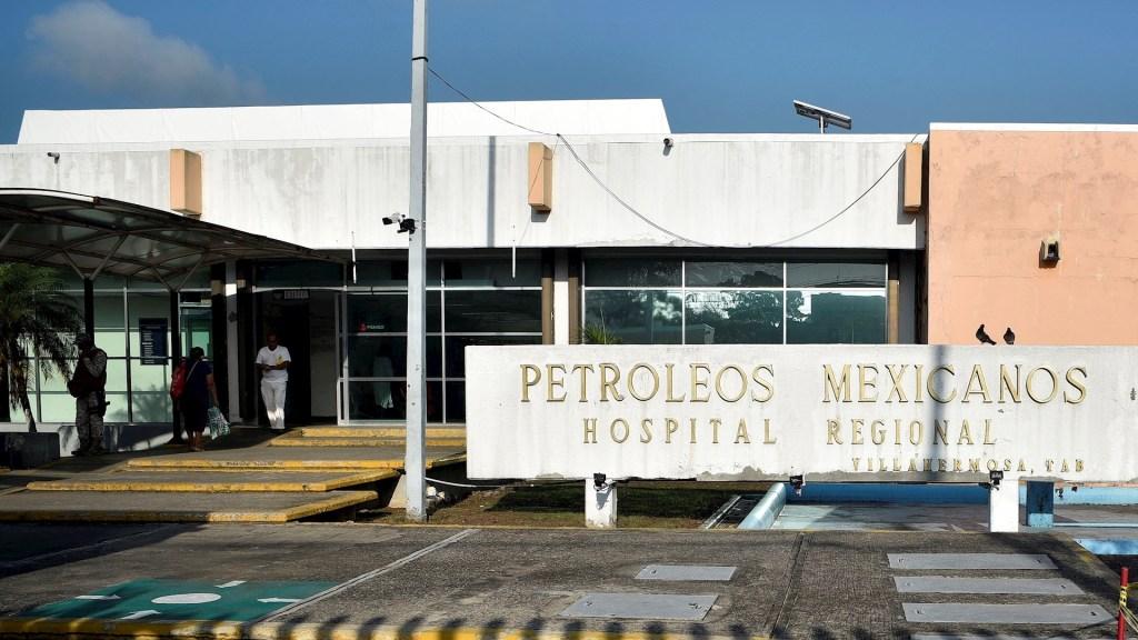FGR ejercerá acción penal contra proveedor de medicamento contaminado en hospital de Pemex de Tabasco - Tabasco hospital regional Pemex