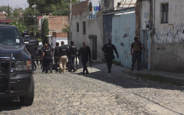 Nueve muertos por enfrentamiento en Tlaquepaque, Jalisco - Foto de @escamillajluis