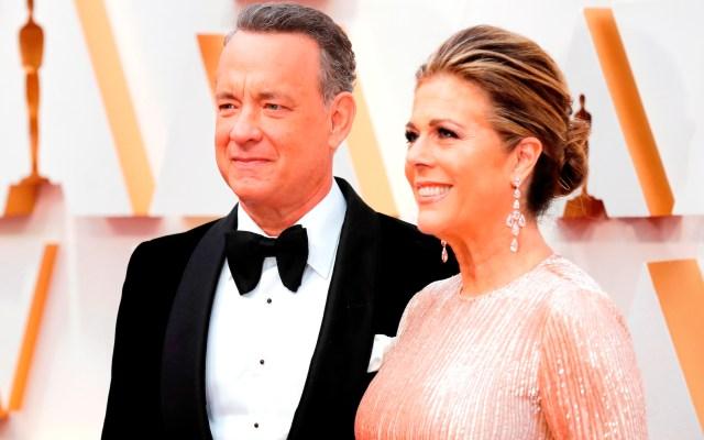 Tom Hanks y Rita Wilson salen del hospital tras contagiarse de COVID-19 - Foto de EFE