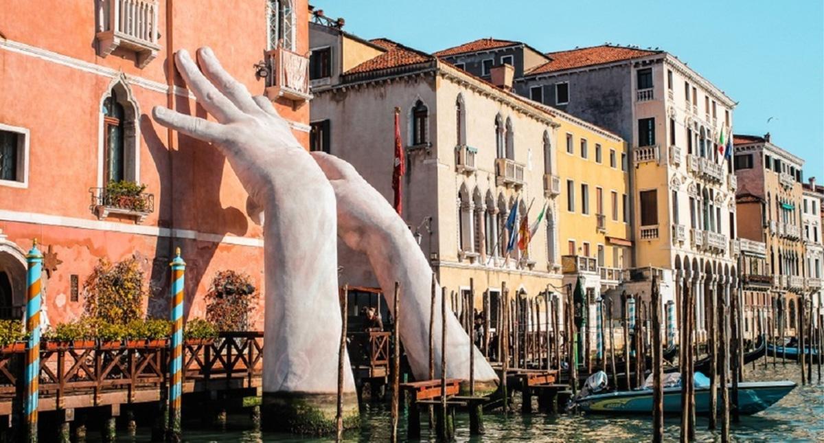 Venecia se encuentra vacía de turistas por el COVID-19