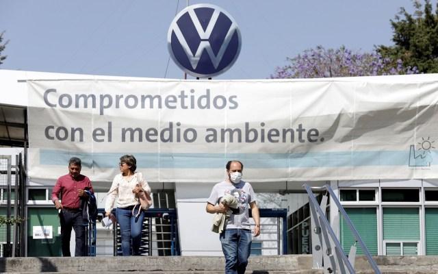 Volkswagen inicia paro preventivo por COVID-19 en Puebla - Volkswagen Puebla paro