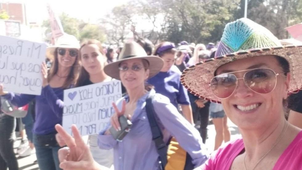 #Video Marchan en Puebla para exigir seguridad a las mujeres - Foto de MariLoli Pellón.