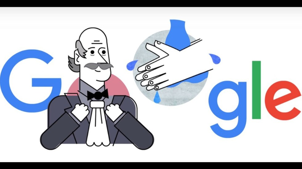 Google dedica doodle a Ignaz Semmelweis, el padre del control de infecciones