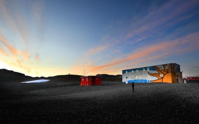 ¿Cómo es vivir la cuarentena en una base científica en la Antártica?