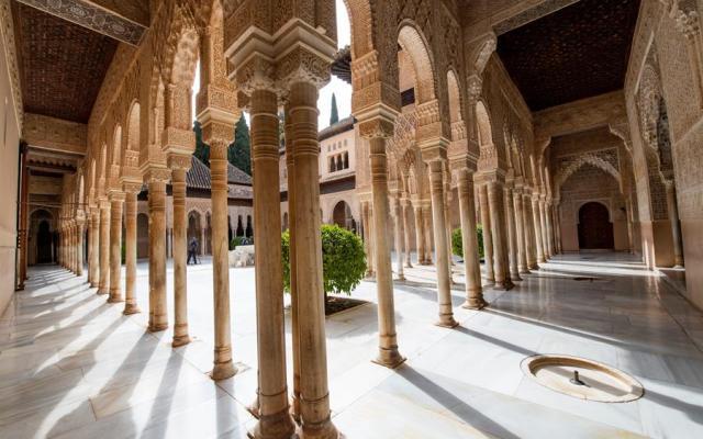 Una Alhambra monumentalmente diferente - Foto de EFE.
