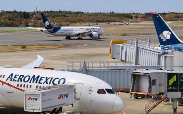Aviones de Aeroméxico con insumos para COVID-19 entran a espacio aéreo mexicano - Foto de En El Aire