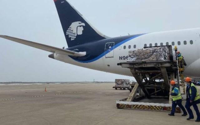 IMSS otorga contrato a Aeroméxico para traslado de medicamentos oncológicos - Aeromexico vuelo China Mexico insumos medicos COVID19 coronavirus