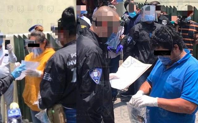 Confirman detención de agresores de enfermera en la Ciudad de México - Se tratan de Antuan Olguín Padilla y Sandra Méndez Puente, quienes presuntamente agredieron a una enfermera el pasado 17 de abril