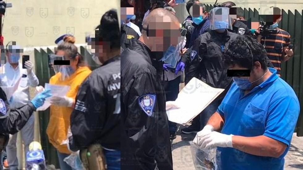 Detienen a una mujer y un hombre por golpear a una enfermera - Se tratan de Antuan Olguín Padilla y Sandra Méndez Puente, quienes presuntamente agredieron a una enfermera el pasado 17 de abril