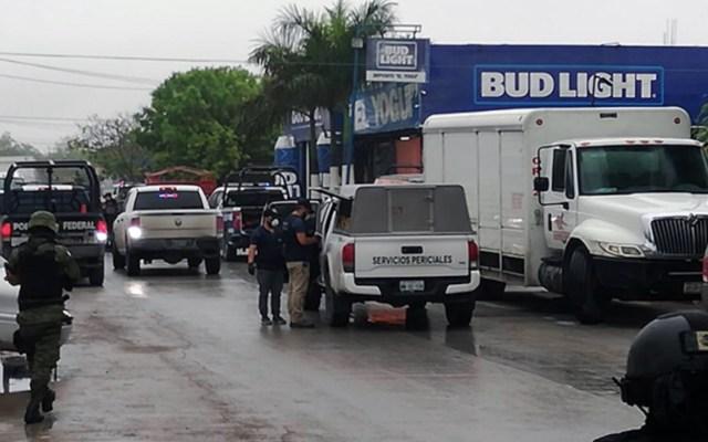 Asesinan a siete en depósito de cerveza en Reynosa - Foto de Twitter Noticiero de Victoria