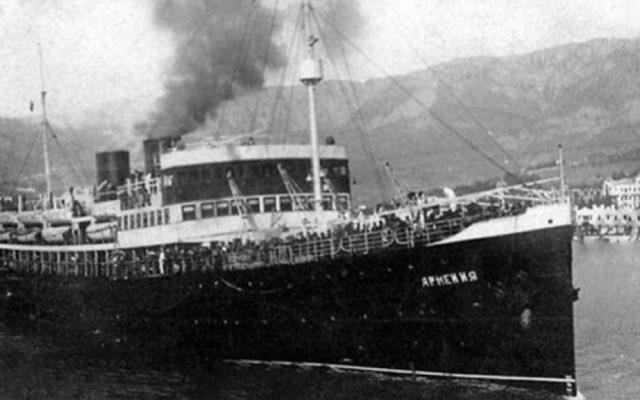 Hallan el 'Titanic soviético', hundido en 1941 - Barco 'Armenia'. Foto de Wikipedia