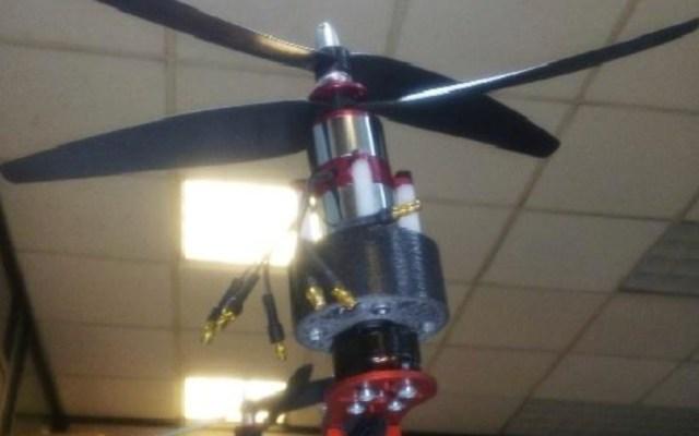 Premian prototipo de brazo robótico volador creado por egresado del IPN - Foto de IPN
