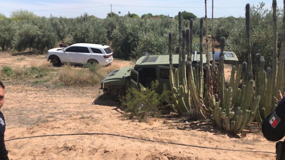 Enfrentamiento entre grupos delictivos deja al menos cuatro muertos en Caborca, Sonora - Foto de @PespSonora