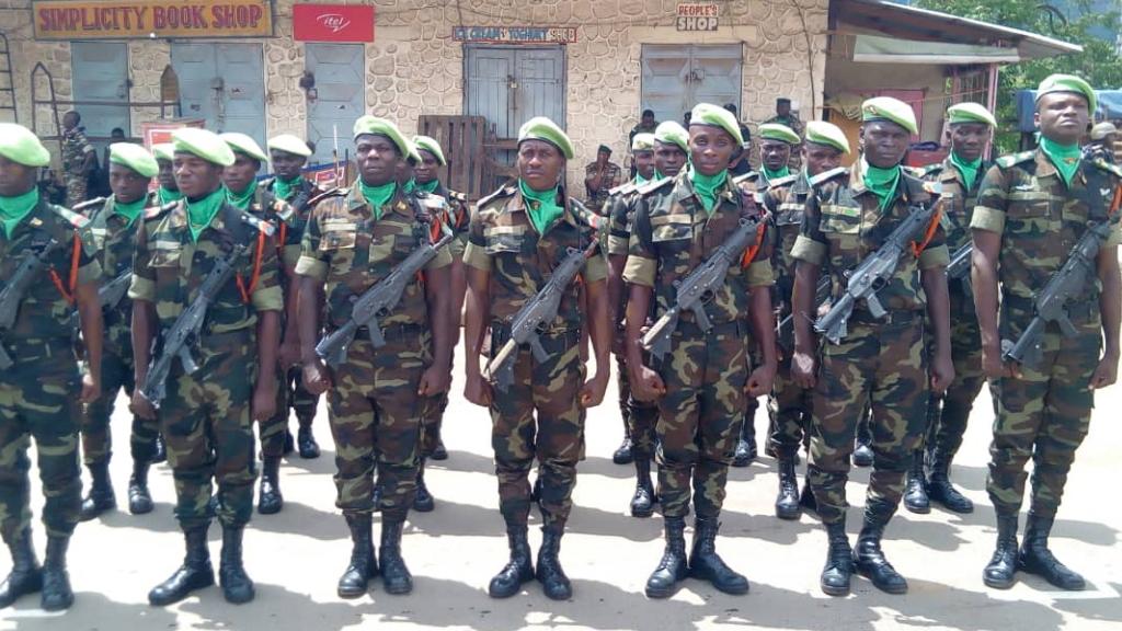 Camerún admite participación de militares en masacre de civiles - Camerún soldados miltiares