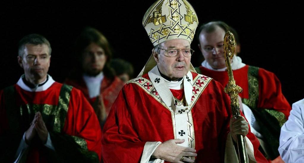 Presuntas víctimas de cardenal George Pell relatan abusos sexuales - Cardenal George Pell. Foto de The Newcastle Herald