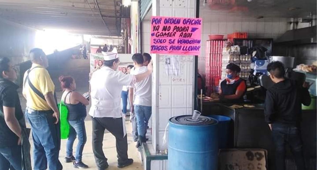 La Central de Abasto de Ciudad de México trabaja sin descanso y con dispares precauciones sanitarias ante pandemia COVID-19La Central de Abasto de Ciudad de México trabaja sin descanso y con dispares precauciones sanitarias ante pandemia COVID-19