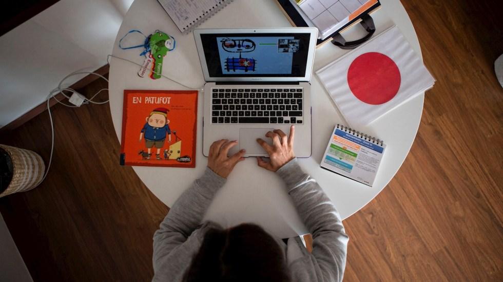 Educación en línea expone datos de millones de alumnos y profesores - Clases internet computadora en Línea