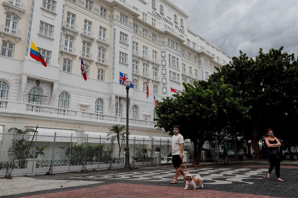 Hotel Copacabana Palace cierra sus puertas en Río de Janeiro por COVID-19 - Foto de EFE